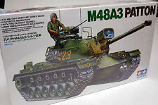 Tamiya 1/35 U.S. M48A3 Patton Tank Plastic Model Kit 35120 USMC M48-A3