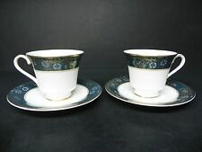 ROYAL DOULTON CARLYLE  #H5068 (SET OF 2) CUPS AND SAUCERS *