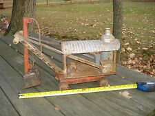 VINTAGE KEYSTONE STEAM SHOVEL RIDE ON PRESS STEEL RIDE EM KEY STONE COLLECTABLE