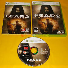 F.E.A.R. 2 PROJECT ORIGIN XBOX 360 FEAR Versione Italiana 1ª Ed ○ COMPLETO - AI