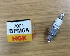 GENUINE NGK BPM6A SPARK PLUG LAWNMOWER CHAINSAW TRACTOR GENERATOR with resistor