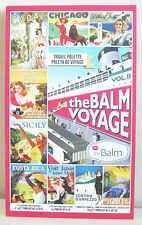 The BALM VOYAGE VOL.II Face Palette. Shadow, Blushe, Bronzer, Highlighter, lips
