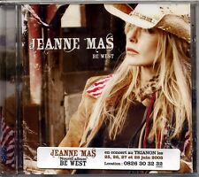 CD - JEANNE MAS - Be West