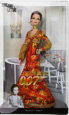 BARBIE JAMES BOND 007 LIVE AND LETDIE NRFB - model muse doll collection Mattel
