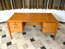 WILHELM RENZ Freestanding Executive Writing Desk - Schreibtisch | Germany 1960s