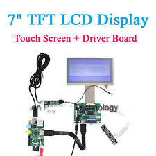 7 Inch TFT LCD Monitor for Raspberry Pi Touch Screen + Driver Board HDMI VGA 2AV