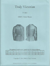 Schnittmuster Truly Victorian TV 461: 1880's Yoked Blouse