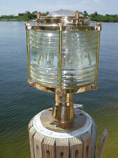 Bronze Pedestal XL post nautical dock lLight - marine column lights