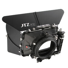"JTZ DP30 Carbon Fiber 4""x4"" Matte Box Kohlefaser For 15mm 19mm Rod Sony ARRI RED"