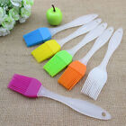 Colourful Silicone Pastry Baking Cooking Basting Brush Cookware Bakeware Utensil