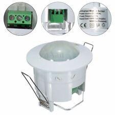 220V-240V 360° Recessed Ceiling Body Infrared Motion Sensor Sensitive Switch