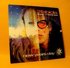 Cardsleeve Single CD 2Fabiola Feat. Medusa New Years Day 2TR 1999 Trance
