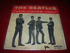 "BEATLES she loves you / i'll get you ( rock ) 7""/45 picture sleeve"