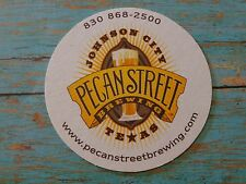 Beer Coaster ~*~ PECAN STREET Brewing ~ Johnson City, TEXAS ~ Brewing Since 2011