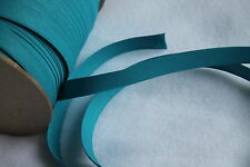 "Bias Tape 1/2 inch double Fold Extra Wide (2""flat) TURQUOISE Quilting & Crafts"