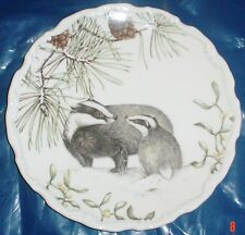 Royal Albert Collectors Plate WINTER HARMONY From The COUNTRY WALK COLLECTION