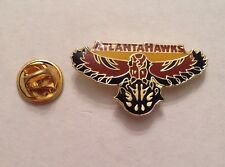 "NBA ATLANTA HAWKS Lapel Pin Basketball 1"" Inch"