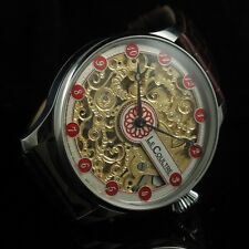 SUPERIOR GRADE SKELETON! Mens Vintage Watch 1930's from Antoine Le COULTRE