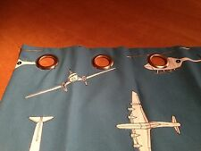 Harlequin Chocks Away 130759 Eyelet  Curtains Made To Measure Hand Sewn All Cols
