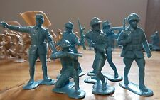 1960's marx playset ww2 battleground europe FRENCH army soldiers Complete France