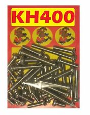 Kawasaki KH400 - Crankcase Covers Kit - A2 Stainless Philips Head Screws