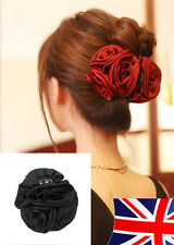 Large Rose Flower hair clip Hair Claw clip clamp Bow Jaw Clip Barrette New style