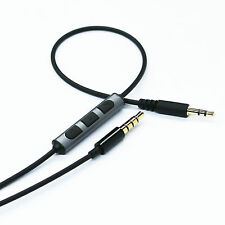 New Cable Remote & Mic for B&W Bowers & Wilkins P5 P7 headphone & iphone Android