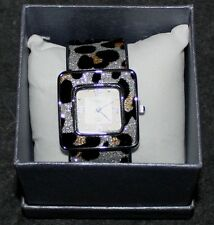 NICE WOMENS STRADA QUARTZ BRACELET BAND SILVERTONE WATCH NEW