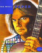 8/95 WALL PAPER magazine  NEIL YOUNG cover