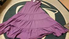 Woman's Ralph Lauren Denim and Supply Purple Dress Large L NWT