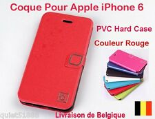 Top Qualite  Hard PU  COQUE HOUSSE ETUI  POUR iPhone  6  (4.7'' ) Rouge