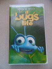 Walt Disney's Pixar A Bug's Life VHS Tape Movie Collectible GUC