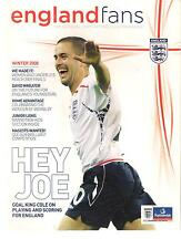 England Fans Offical Supporters Magazine  ISSUE 8 winter 2008