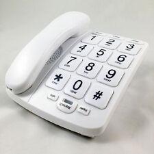 TELEFONO FIJO EUROTEL TECLAS GRANDES Y LUZ DE LLAMADA. PARA FALTA DE VISION