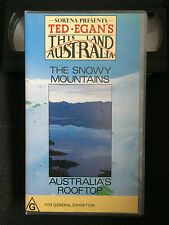TED EGAN'S - THIS LAND AUSTRALIA - THE SNOWY MOUNTAINS - VHS