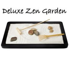 Toysmith DELUXE Zen Garden Compact Relaxation Purified Sand Rakes Included 9X9