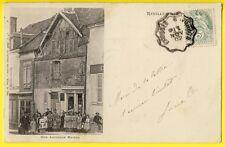 cpa Dos 1900 REUILLY (Indre) Ancienne MAISON Commerce CAFÉ TABACS JOLIVET BOUQU.