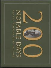 200 Notable Days: Senate Stories, 1787 to 2002-ExLibrary