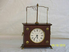 Jerome Clock Co., Mahogany Wood Case Lion Claw Feet Pat'c1883