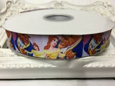 New 1 Metre Belle Beast Print Grosgrain Ribbon Designer 22mm Cakes Bow Dummy