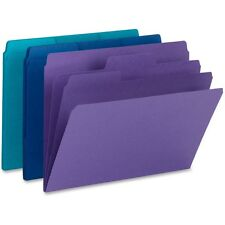 """Smead Supertab Organizer Folder, 1/3 Cut Top Tab, Assorted, 3/pack"""