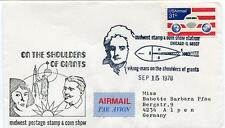 1978 Viking Mars On The Shoulders of Giants Midwest Stamp Show Chicago USA NASA
