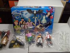DISNEY PETER PAN CHARACTERS PIRATES SET ACTION FIGURES FROM FAMOSA