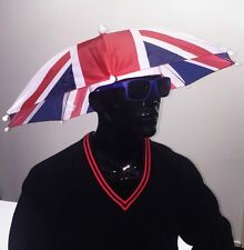 Union Jack Umbrella Hat - Come on Team GB!