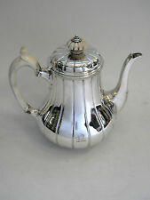 ANTIQUE VICTORIAN SILVER COFFEE POT LONDON 1865 ROBERT GARRARD