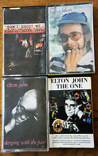 ELTON JOHN Cassette Collection x4  Dont Shoot Me Sleeping With the Past  + more