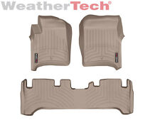 WeatherTech® DigitalFit FloorLiner for Toyota Land Cruiser - 1991-1997 - Tan