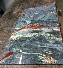 Platte Naturstein blau f. Waschtisch Esstisch Couchtischplatte Marmor Granit NEU