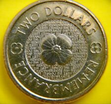 Rare Special 2012 Remembrance Day Australian Coin $2 -Two Dollar circulated coin