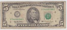 1995 U.S.A. 5 Dollars Bank Note***Collectors***